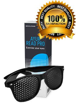 Reclamă – cumpără acum ochelarii Ayur Read Pro